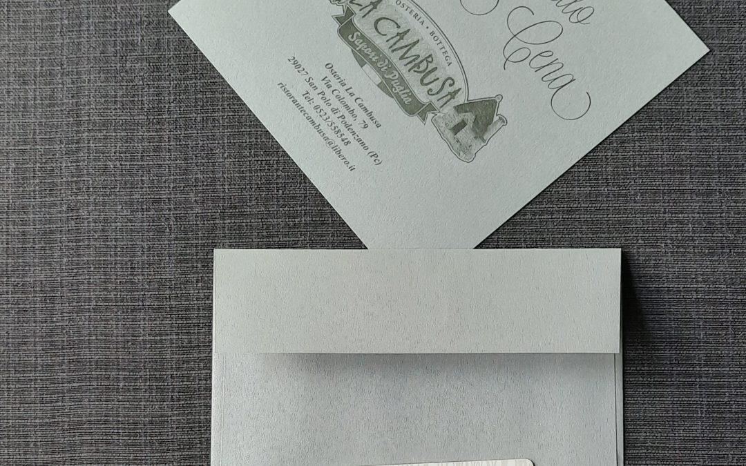 La carta regalo della Cambusa